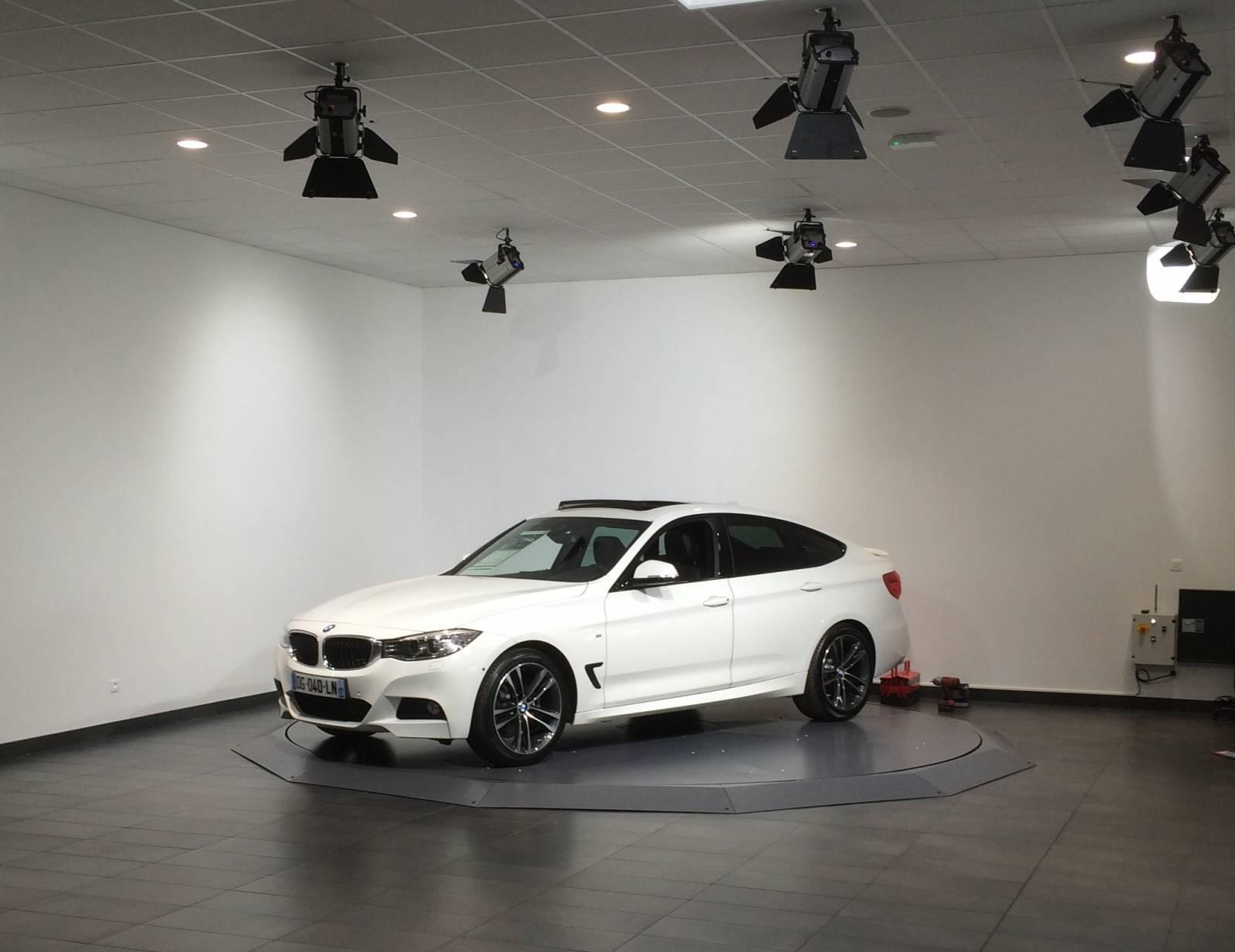 Plateaux tournants encastr s carbox 360 for Plateforme tournante garage